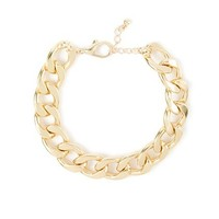 Chunky Chain Link Bracelet  | Claire's