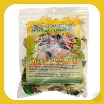 Attract Customers Aromatic Herbal Bath