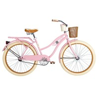 Huffy Deluxe 26'' Classic Cruiser Bike - Women's (Pink)