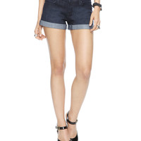 Classic Cuffed Denim Shorts | FOREVER21 - 2000044200