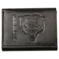 Chicago Bears Black Leather Wallet