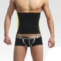 Sweat Belt spandex Body Shaper Slimming Belts for Men Waist Trainer Cincher Underbust Corset Trimmer Tummy Control Binder