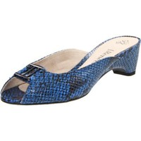 J.Renee Women`s Mitzi Flat,Electric Blue,9.5 M US