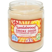 Smoke Odor Exterminator 13 Oz Jar Candle Sandalwood