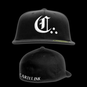 "Cartel Ink — ""The Big C"" Flat Bill Baseball Cap"