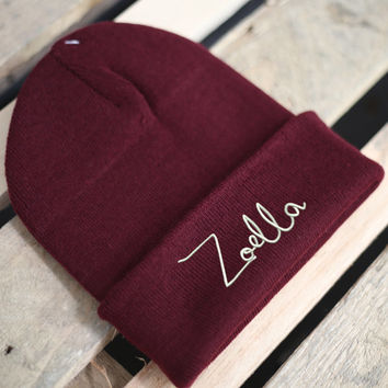 Zoella blog Beanie Hat youtube beauty fashion viral alfie just say yes B102