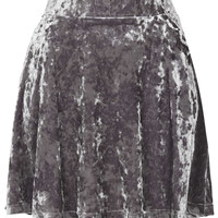Petite Crushed Velvet Skirt - New In This Week - New In - Topshop USA