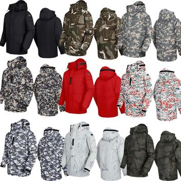 "New Premium ""SouthPlay"" Winter Season Waterproof 10,000mm Warming Ski & Snowboard  Wood Camo Military Jackets"