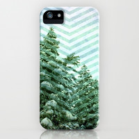 Snowy Chevron iPhone & iPod Case by Shawn King