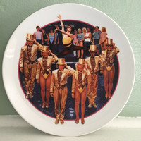 Images of Hollywood A CHORUS LINE Avon Collector Plate 1985