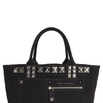 MARC JACOBS 'Chipped Studs' Canvas Shoulder Tote | Nordstrom