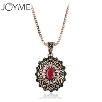 Joyme Vintage Jewelry Bohemian Statement Choker Nigeria Necklace Jewellery Necklaces Pendants For Womens Big Geometric Collier