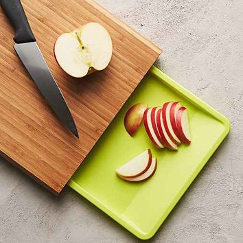 Bamboo Cut + Prep Cutting Board- Brown One