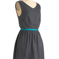 Blue All Along Dress | Mod Retro Vintage Dresses | ModCloth.com