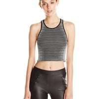 BCBGeneration Women's Seamless Crop Top