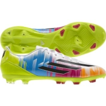 adidas Kids' F10 Messi TRX FG Soccer Cleat - Volt/Blue/Purple | DICK'S Sporting Goods