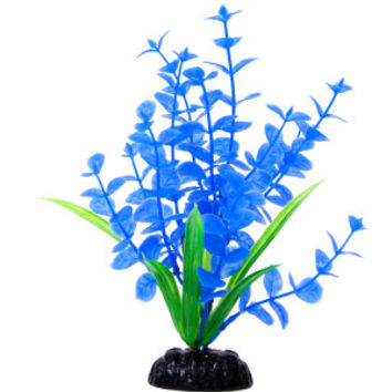 Top Fin Artifical Blue Pond Penny Aquarium Plant