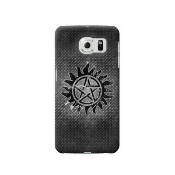 P2816 Supernatural Antidemonpos Symbol Phone Case For Samsung Galaxy S6 edge