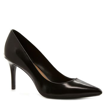 Calvin Klein Gayle Leather Pointed-Toe Pumps | Dillards