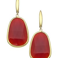 Andara Irregular Gemstone Drop Earrings - Max & Chloe