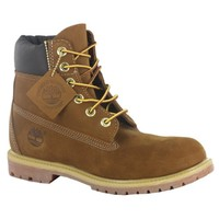 Timberland 6inch Premium Rust Leather Womens Boots Size 8 US