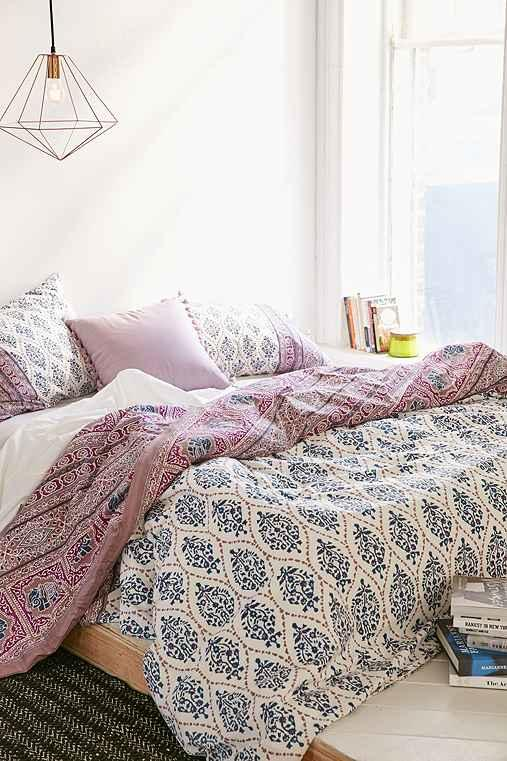 Plum Amp Bow Sofia Block Duvet Cover From Urban Outfitters