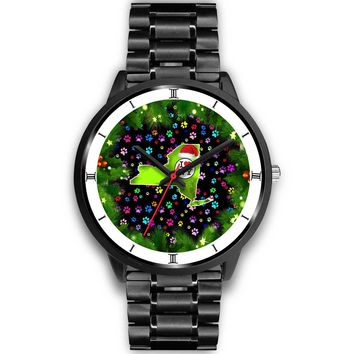 Dog Paws Print New York Christmas Special Wrist Watch-Free Shipping