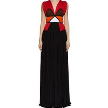 Givenchy Colourblock Gown | Harrods.com