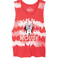 Tie-Dye Minnie Mouse Muscle Tank - Multi