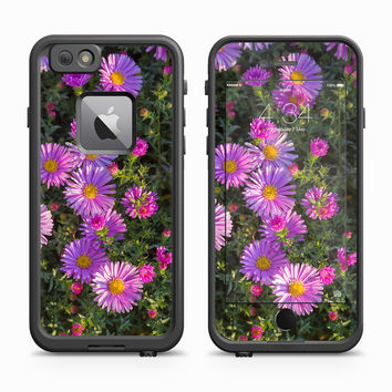 Purple Daisies Erupting In The Morning Sun Skin for the Apple iPhone LifeProof Fre Case