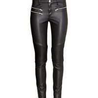Biker trousers - from H&M