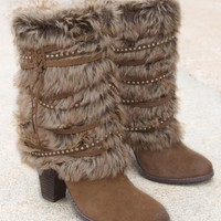 Naughty Monkey Snow Cozy Boot