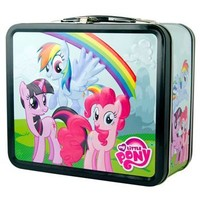 My Little Pony Metal Characters Rainbow Dash Twilight Sparkle Pinkie Pie Lunch Box - My Little Pony - | TV Store Online