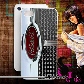 Truck, Peterbilt, Heavy Duty for iPhone 4/4S, 5/5S, 5C and Samsung Galaxy S3, S4 - Rubber and Plastic Case