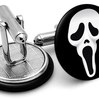 Scream Cufflinks