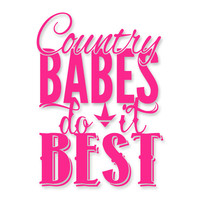 Luckless LLC | Country Babes Decal