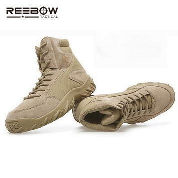 US ARMY Tactical Boots Military Men's Soldier Desert Combat Shoes Men Outdoor Hiking Camping Climbing Mountaineering Boot