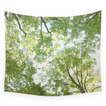 Society6 Trees Wall Tapestry