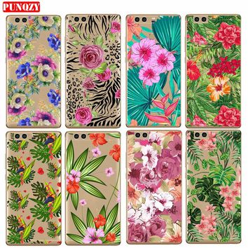 Case For SamSung Note3 Note4 Note5 A5 A7 A3 A8 A7 2017 S8 S8 Plus Hard PC Flower Patterned Exotic Draw Cute Mobile Phone Shell