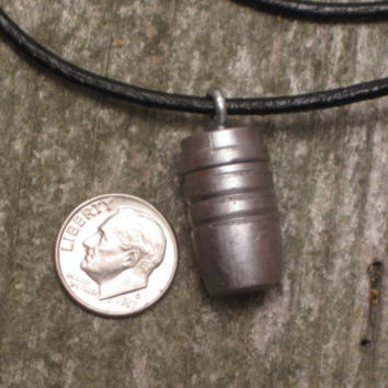 50 Cal, Smith & Wesson, Bullet, Steampunk, Pendant, Necklace, Caliber, 500, Big, Charm, Girls and Guns, Mens, Gun, Hunter, Hunting, Jewelry