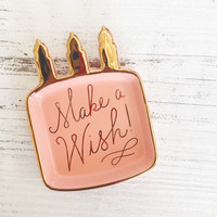 Make A Wish Trinket Tray