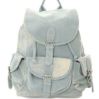 Street Level The Destination Denim Backpack in Light Blue : Karmaloop.com - Global Concrete Culture