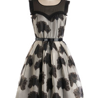 Orla Kiely Make Bloom for Elegance Dress | Mod Retro Vintage Dresses | ModCloth.com