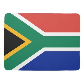 South African Flag of South Africa Baby Blanket