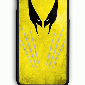 iPhone 6 Case - Hard (PC) Cover with X Men Wolverine Logo Plastic Case Design