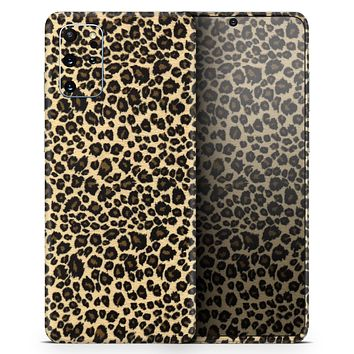 Small Vector Cheetah Animal Print - Skin-Kit for the Samsung Galaxy S-Series S20, S20 Plus, S20 Ultra , S10 & others (All Galaxy Devices Available)