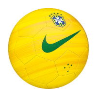 Nike Brasil CBF Prestige Third Pack Soccer Ball Size 5 (Yellow)