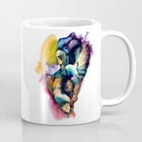 QUEEN OF SKULLS II Mug by RIZA PEKER