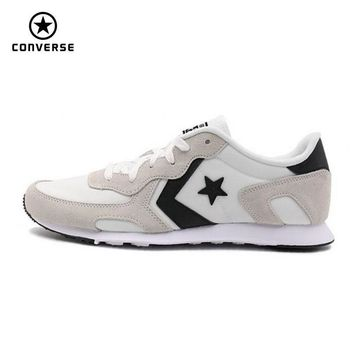 new Converse Star Player style Leather unisex sneakers spring autumn gray color Skateboarding Shoes 155616C