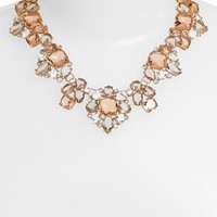 kate spade new york crystal cluster collar necklace | Nordstrom